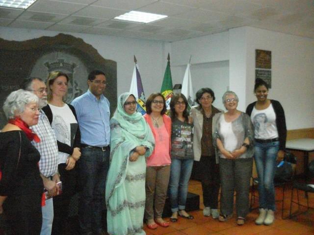 Sessão de solidariedade com o Sahara Ocidental em Alcochete