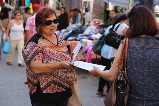 Campanha pela saúde da mulher nas ruas do Seixal