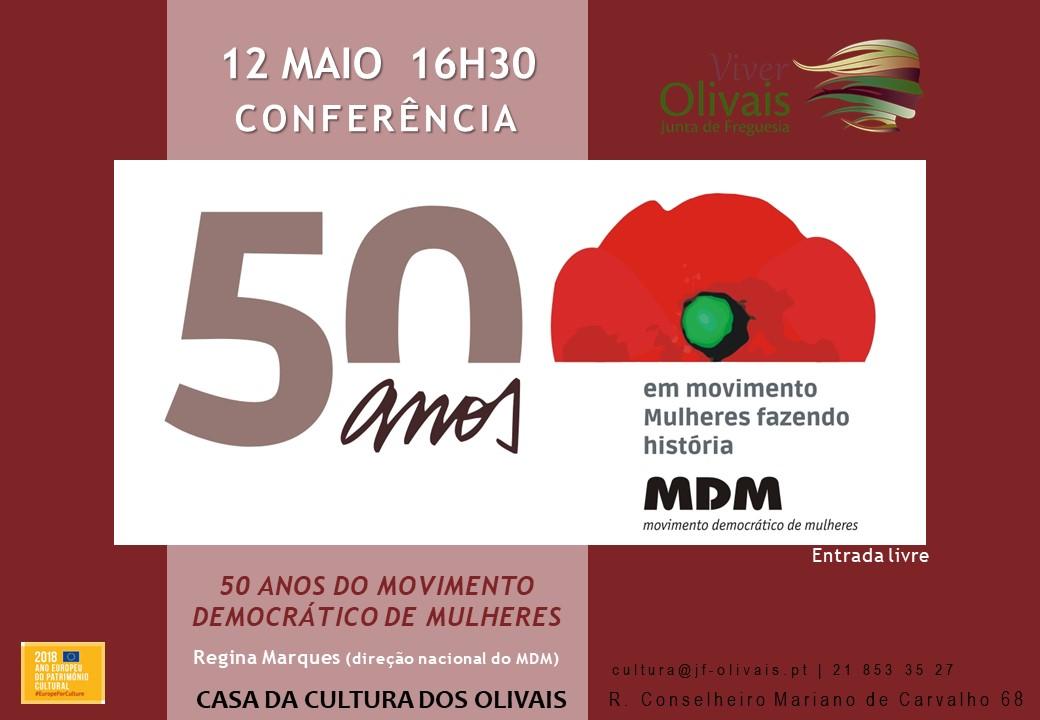 Conferência em Lisboa assinalou 50º aniversário do MDM