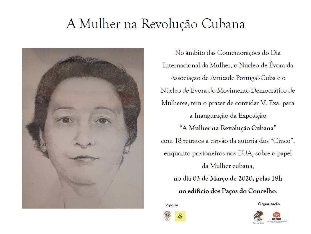 MDM em Évora e as Comemorações do Dia Internacional da Mulher