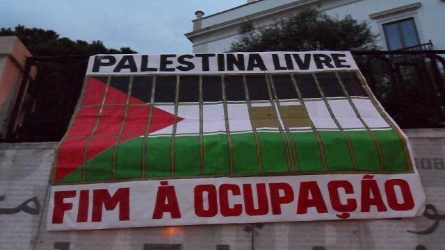 Solidariedade com os presos palestinos em greve da fome nos cárceres de Israel