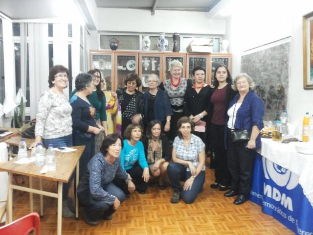 Encontro de solidariedade com as mulheres do mundo, pela autodeterminação e a paz
