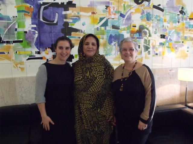 MDM recebe dirigente das mulheres saharauis