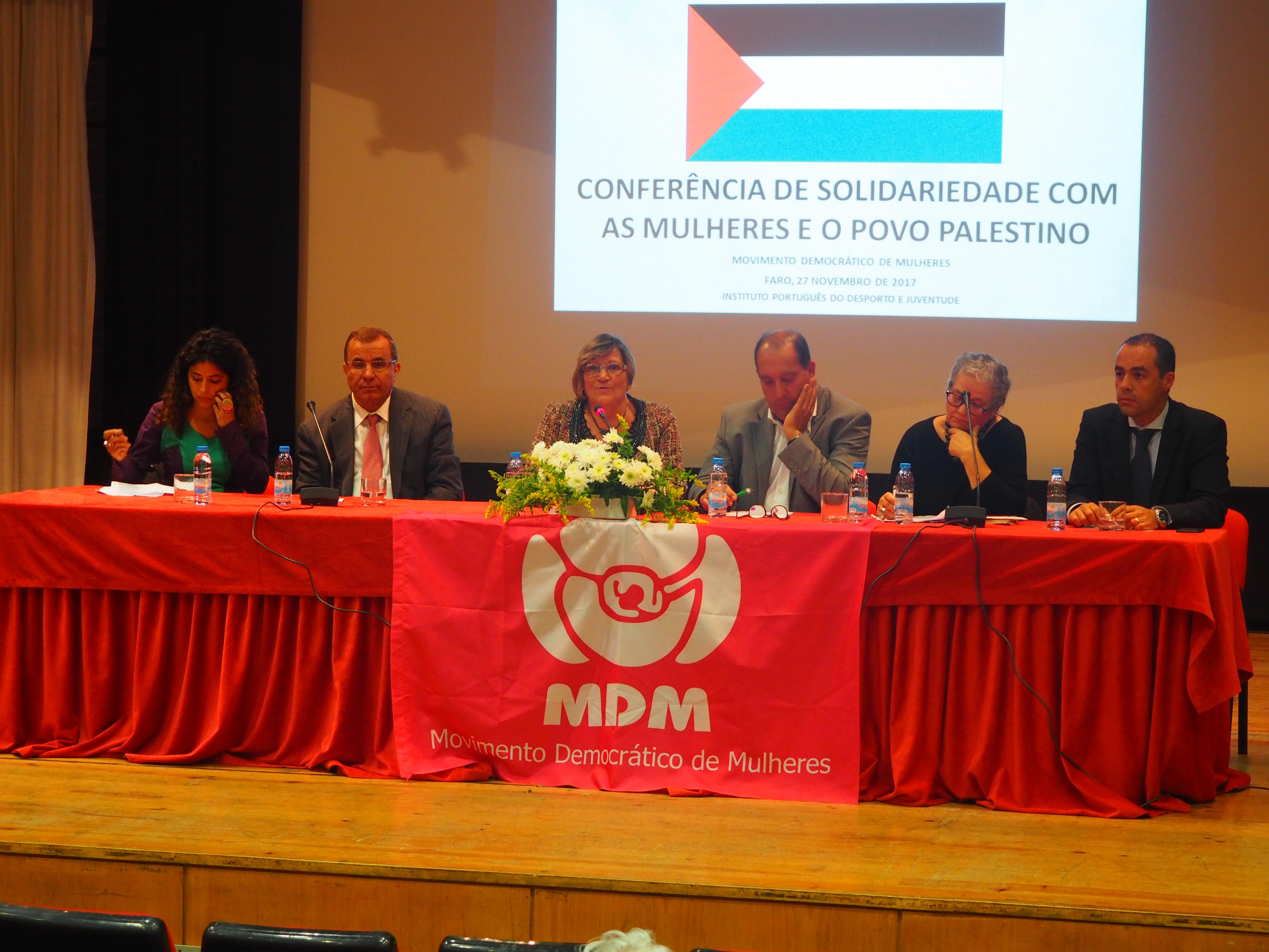 MDM celebra Dia Internacional de Solidariedade com o Povo Palestino