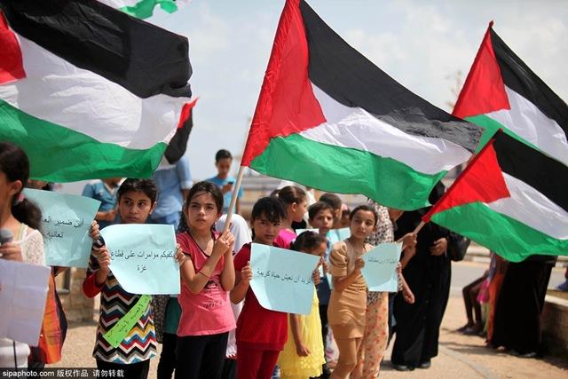 Liberdade para os presos políticos palestinos nas prisões de Israel