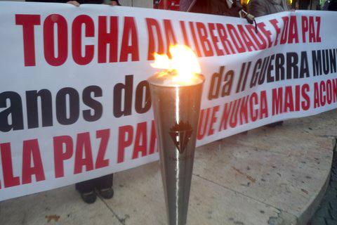 Tocha da Liberdade recebida em Lisboa