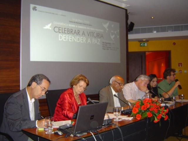 """MDM presente na Conferência """"Celebrar a Vitória / Defender a Paz"""""""