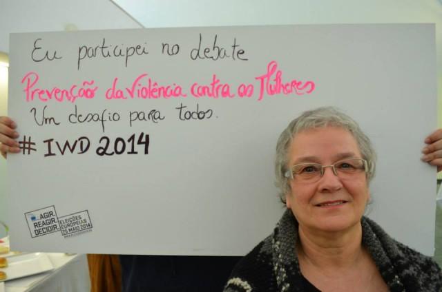 MDM participa em debate sobre a prevenção da violência sobre as mulheres