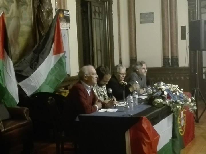 Tribuna pública de solidariedade com a Palestina