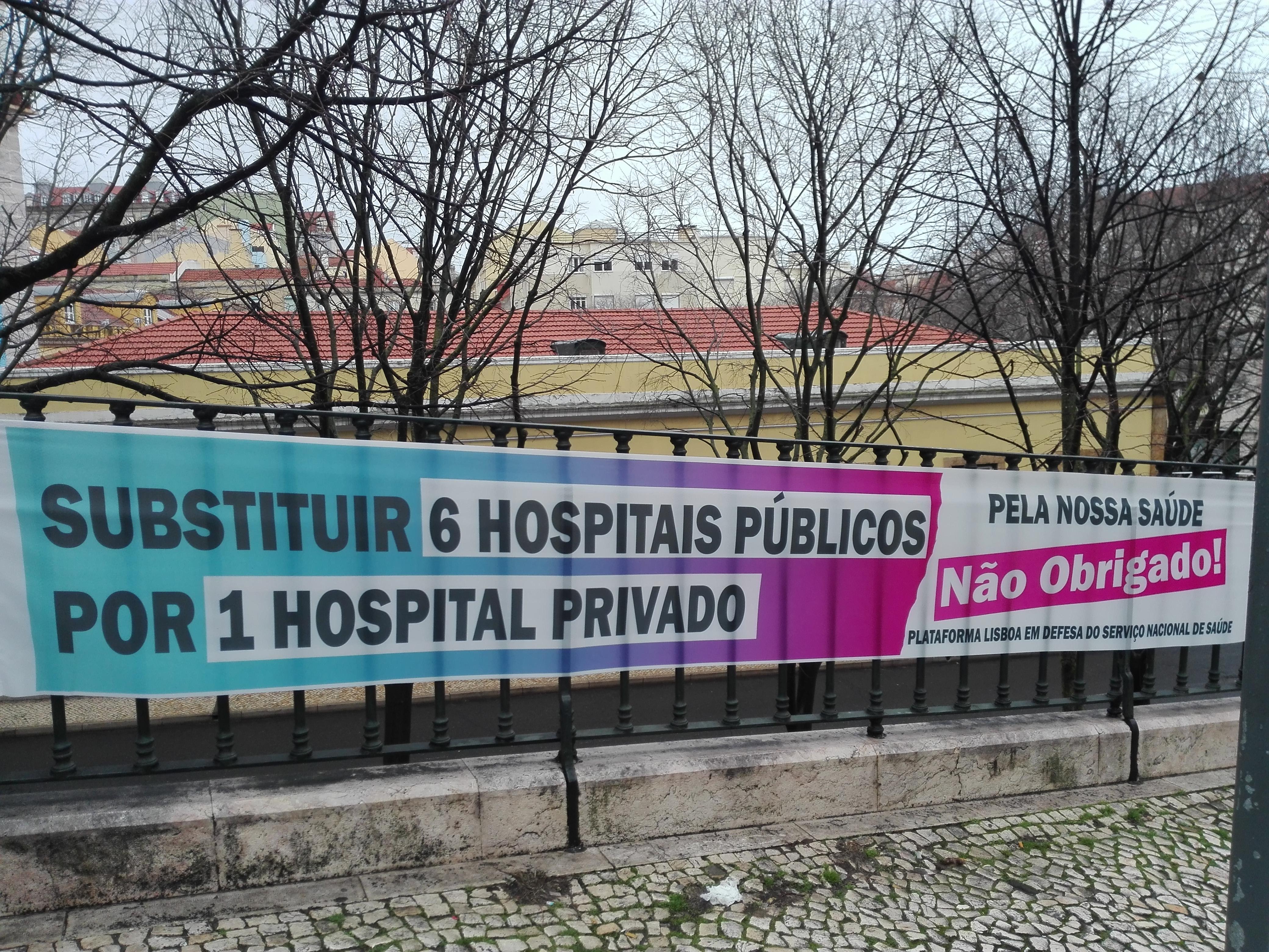 Sobre a falta de capacidade de resposta em várias urgências nos hospitais