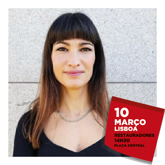 Cláudia Madeira, consultora e eleita na AML