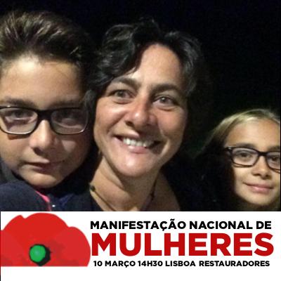 Catarina Pires, jornalista e mãe do João e da Rita