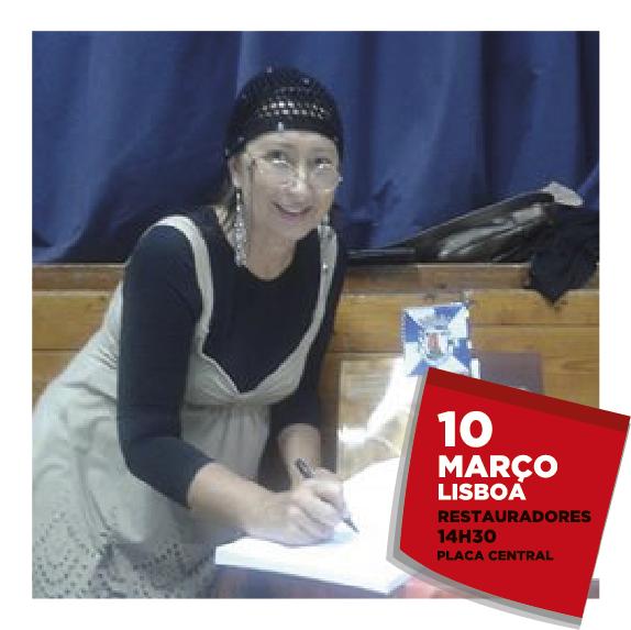 Clara Santana Rita, professora universitária e escritora