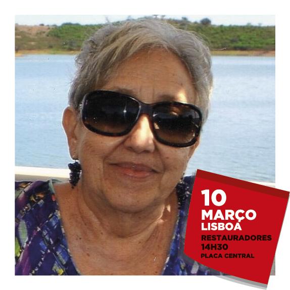 Salomé Câmara, primeira mulher presidente de um sindicato em Portugal