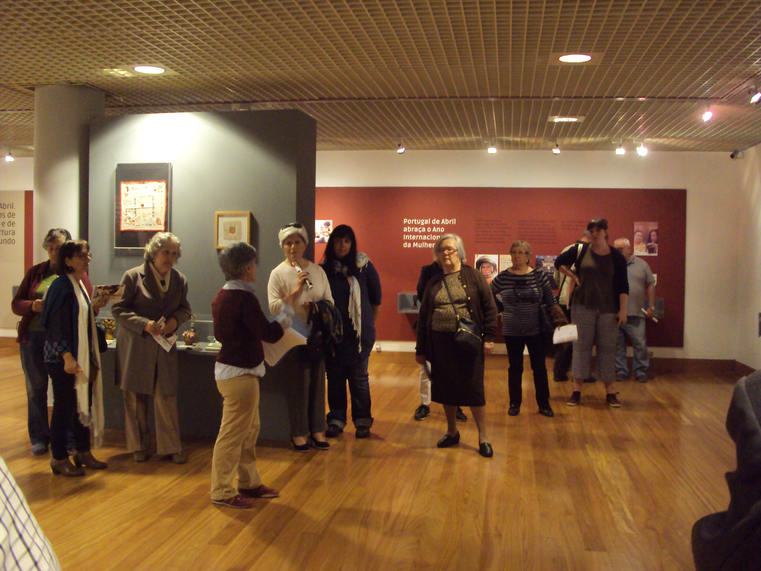 Visita guiada à exposição do 50º Aniversário do MDM