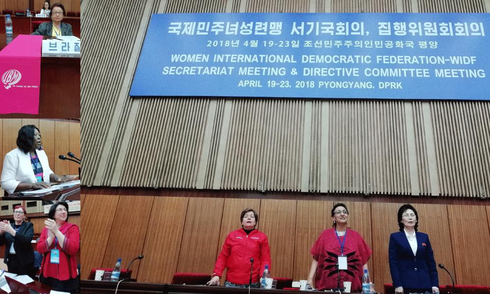 Resolução do Comité de Direcção Mundial da FDIM