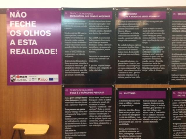 Tráfico de mulheres debatido no Politécnico de Bragança