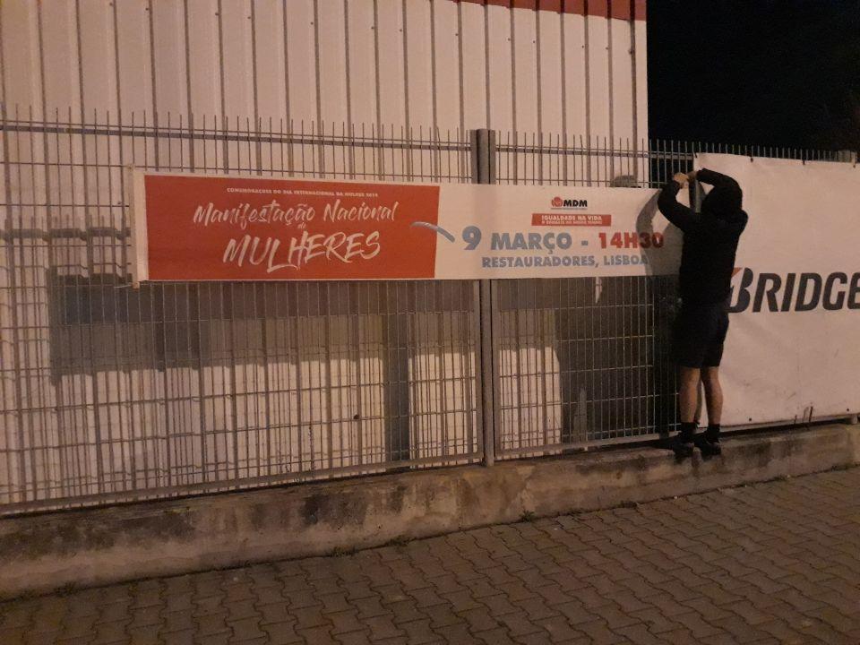 Estamos a construir a Manifestação em Alcochete!