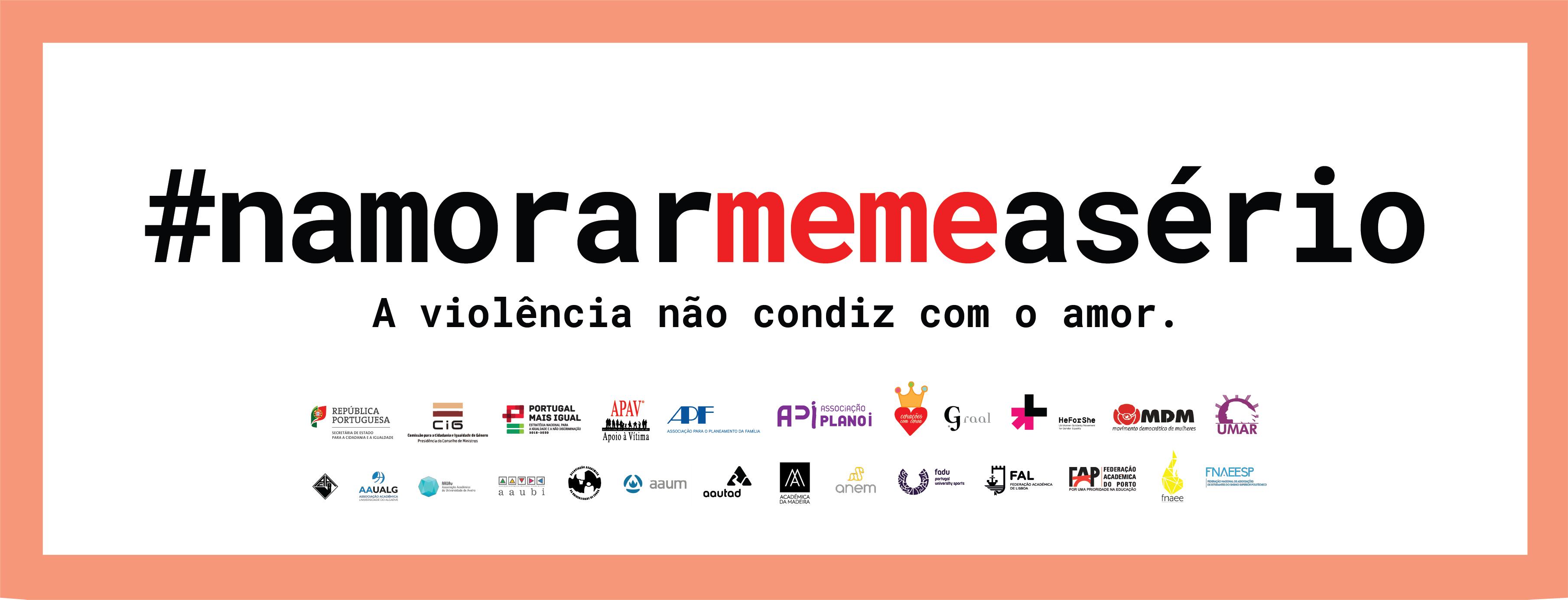 MDM é parceira da Campanha pela eliminação da violência no namoro #NamorarMemeASério