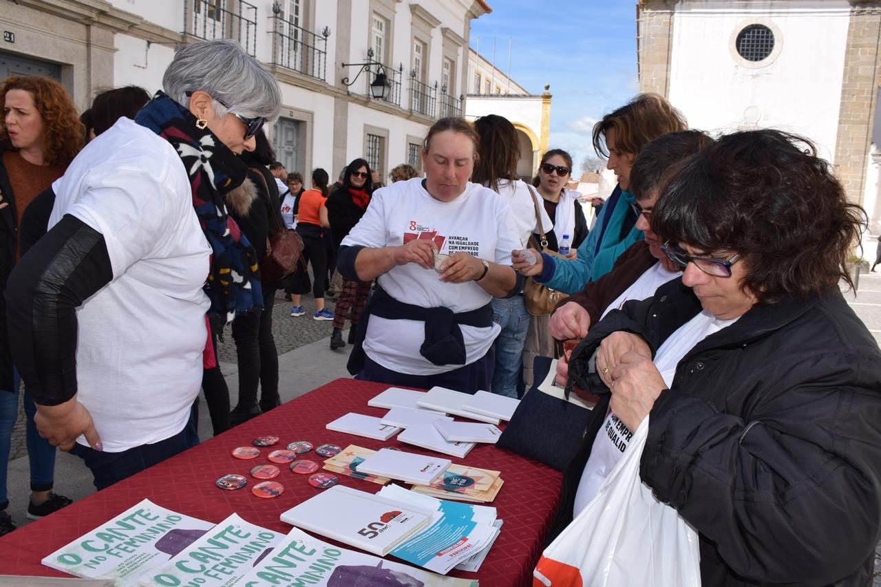 Comemorações do Dia Internacional da Mulher em Évora