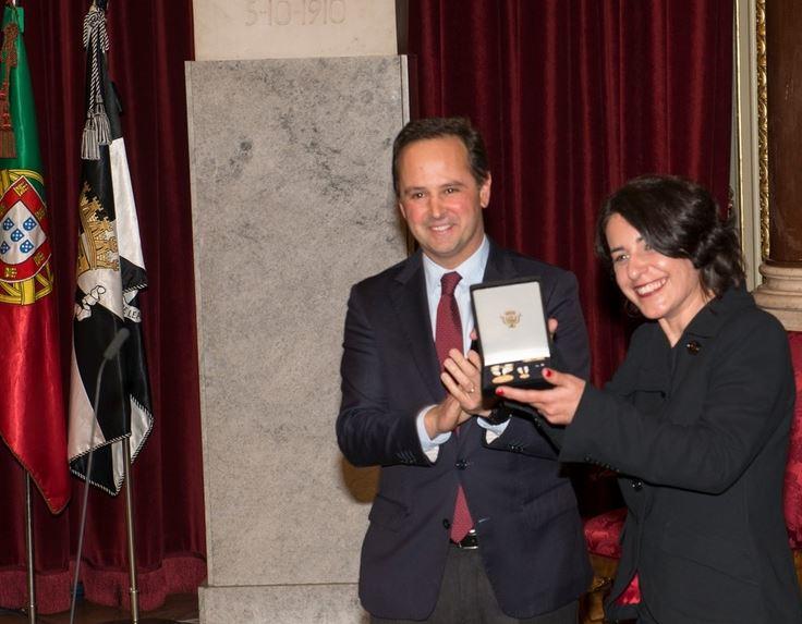 MDM recebe Medalha de Mérito do Município de Lisboa