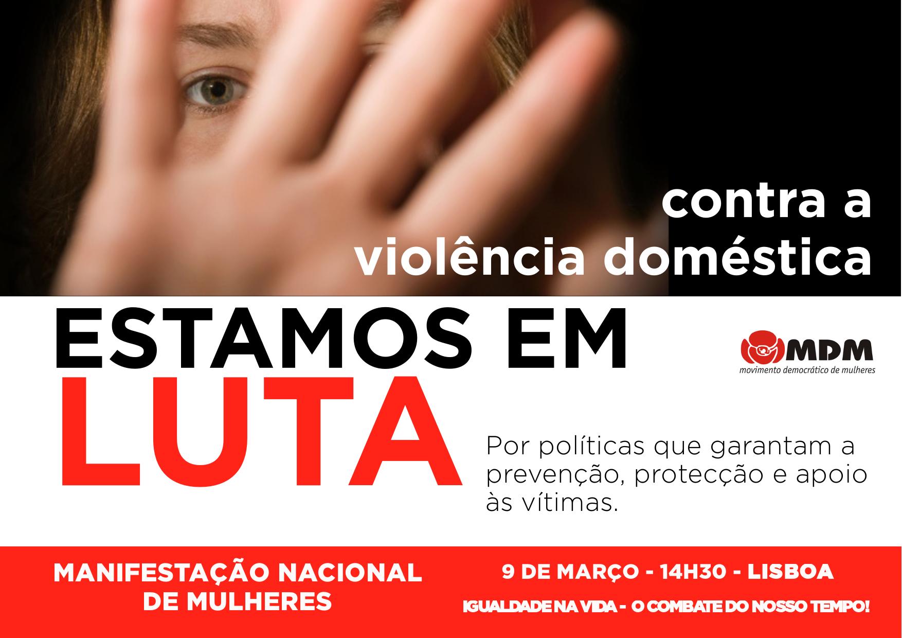 Combate à Violência Doméstica – Uma luta de todos os dias!
