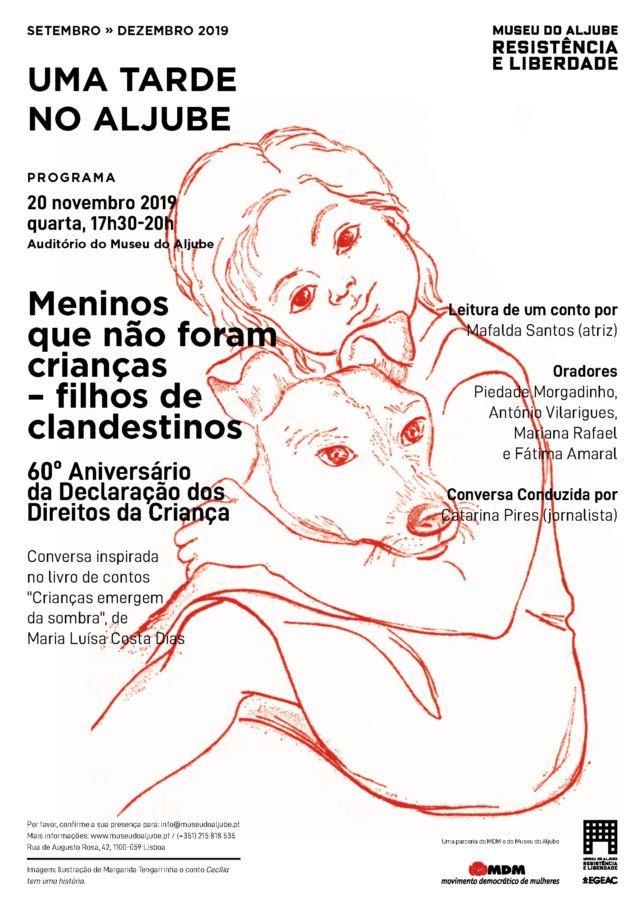 MDM assinala 60º Aniversário da Declaração dos Direitos da Criança no Museu do Aljube