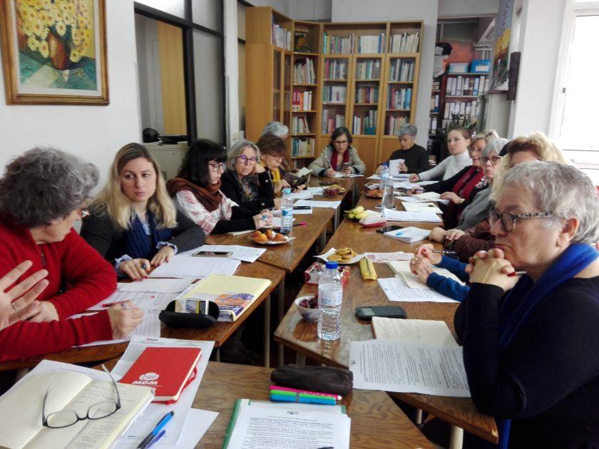 Direcção Nacional reúne e avança para a Semana Nacional de Contactos – Manifestação Nacional de Mulheres 2020
