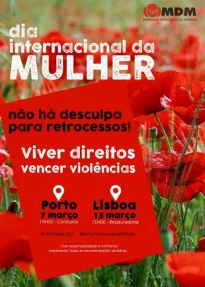 Nota aos órgãos de comunicação social – Dia Internacional da Mulher