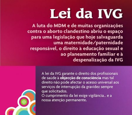 Saudação às mulheres em luta, em todo o mundo, pelo acesso à interrupção da gravidez, a pedido da mulher, em condições de segurança