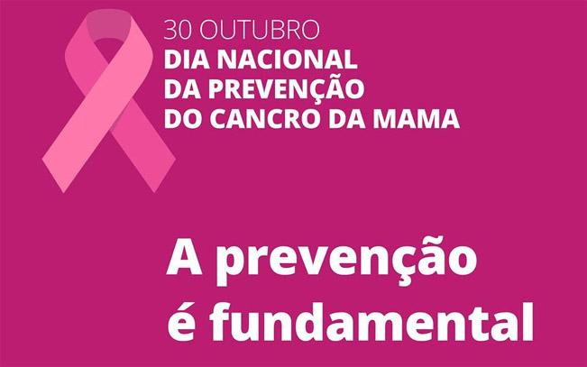 30 de Outubro – Dia Nacional de Luta Contra o Cancro da Mama