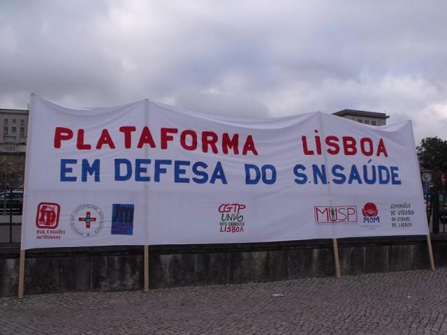 Por um SNS universal, geral e gratuito para servir a população de Lisboa